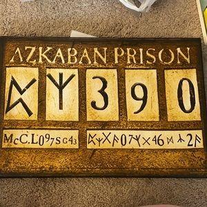 19 x 13 harry potter Azkaban prison wall hanging